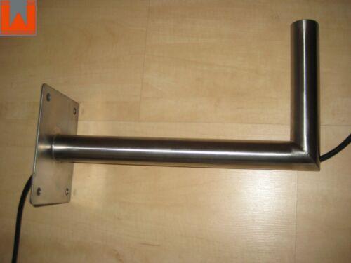 Sat-soporte de acero inoxidable 450//250//48,3mm