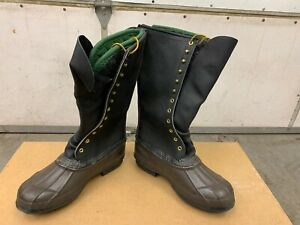 f9a4b29e007 Details about Hoffman thinsulate Lineman Pack Boots