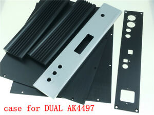 Details about full Aluminum chassis DAC case for DUAL AK4497 DAC DIY audio  32*6*24 8cm