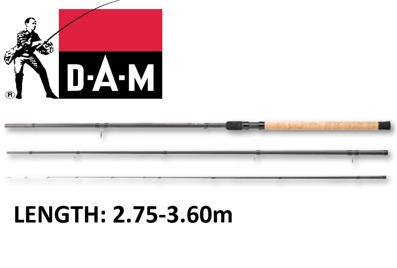Nouveau 2018 DAM Sumo sensomax Pêche à La Carpe Feeder Brème Roach tanche Rod mode