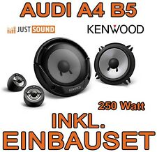 Audi A4 B5 - Kenwood 250 Watt Boxen vorne - 13cm Lautsprecher Einbauset