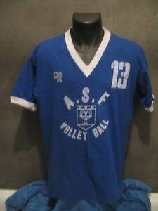 maillot-shirt-ASF-FONTENAY-AUX-ROSES-VOLLEY-BALL-VINTAGE-maglia-jersey-trikot
