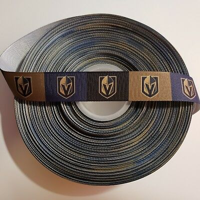"By The Yard USA Seller 7//8/""  Golden State inspired Grosgrain Ribbon"
