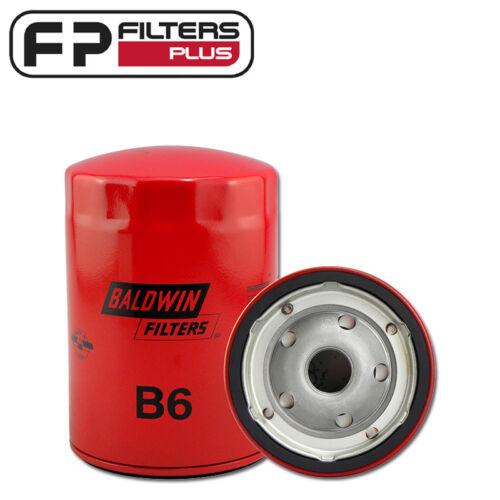 5.0L 307 B6 Baldwin Oil Filter- Chev V8 5.7L 350 6.6L 420 7.4L 454 -Z24 WZ24