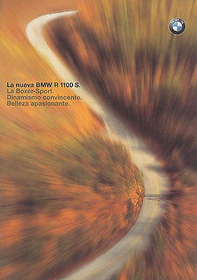 Angemessen Bmw R 1100 S Prospekt Span 1998 7/98 Brochure Prospectus Prospecto Broschyr Moto