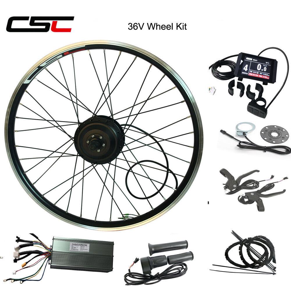 Electric Bike Front Rear  Wheel Conversion Hub Kit  blueetooth 250W 350W 500W 36V  the lowest price