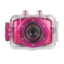 Vivitar DVR 781HD Action Camcorder Helmet, Bicycle Cam Hot Pink ~ Waterproof