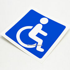 DISABLED BLUE BADGE Disability Sign Car,Coach,Window,Bumper Vinyl Decal Sticker