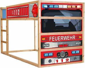 Feuerwehrbett-Moebelfolie-selbstklebend-Aufkleber-IM209