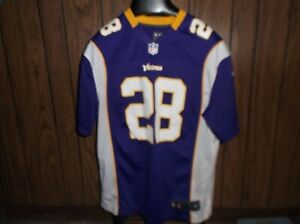 Details about Adrian Peterson jersey Nike On Field large Minnesota Vikings purple