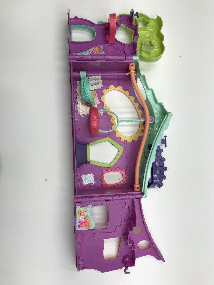 2007 Littlest Pet Shop Purple Purple Purple Club Tree House Playset + Pets & Accessories 24f13c
