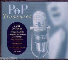 POP TREASURES 2CD Classic 50s 60s KATE SMITH GLENN YARBROUGH PAUL ANKA New