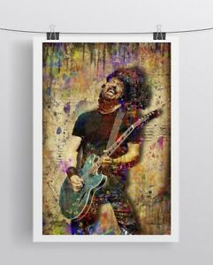 FOO FIGHTERS DAVE GROHL Pop Art with Free Shipping US DAVE GROHL Poster