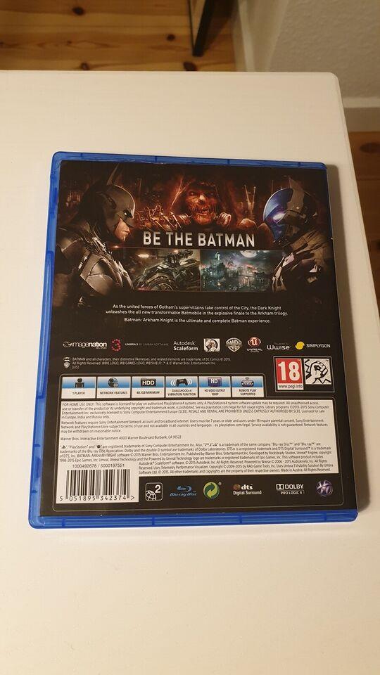 Batman Arkham Knight, PS4, action