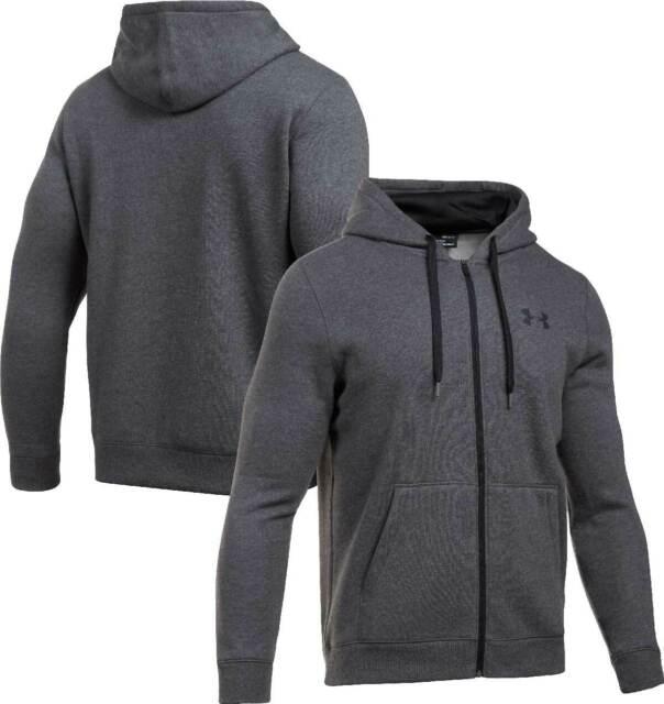 Under Armour Men's UA Rival Fleece Full Zip Hoodie - Large - Grey - New