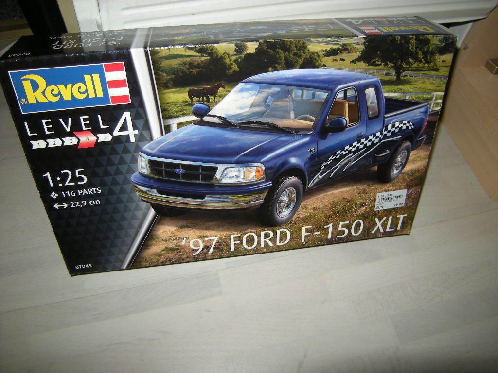 1 25 Revell Level 4 Ford F-150 XLT 1997 Nr. 07045 OVP  | Ausgezeichnet
