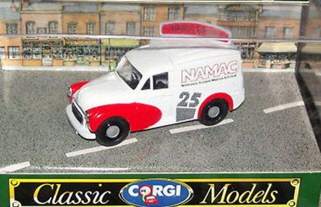 CORGI 96843 Morris 1000 Van Modello Diecast namac numero 25, tetto sign 1965 - 1990
