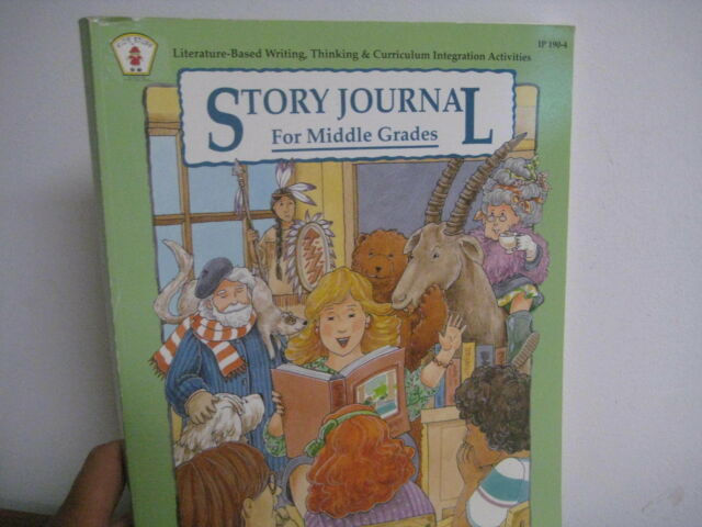 Kids' Stuff: Story Journal for Middle Grades : Literature-Based Writing,  Thinking and Curriculum Integration Activities by Shirley Cook and Imogene