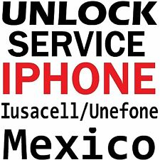 MEXICO AT&T IUSACELL NEXTEL UNEFON IPHONE 6S+ 6S 6 6+ 5S PREMIUM UNLOCK SERVICE