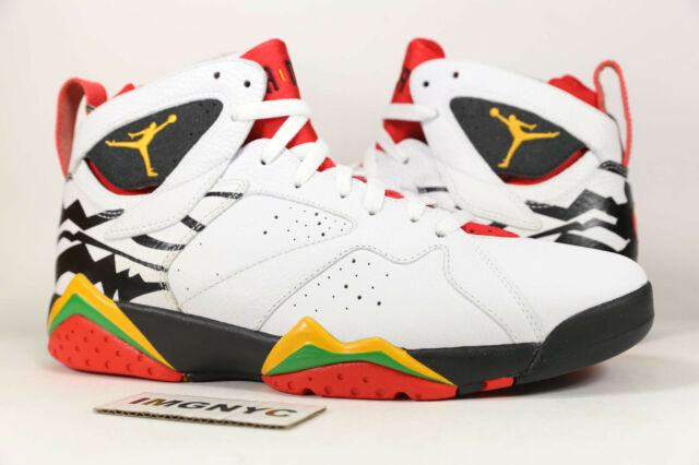 2bf5a536ef5 AIR JORDAN VII 7 RETRO PREMIO NEW SIZE 9.5 BIN WHITE DEL SOL RED 436206 101