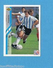 Figurina/CARDS-UPPER DECK 94 -WC USA 94- n.197- RODRIGUEZ - ARGENTINA