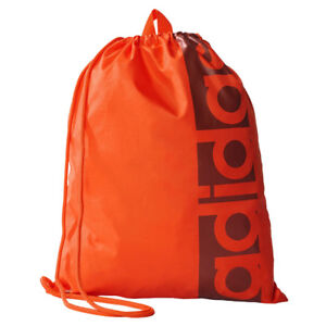 afe1e0ef12 Image is loading adidas-Linear-Sack-Performance-Sports-Gym-Bag-Training-