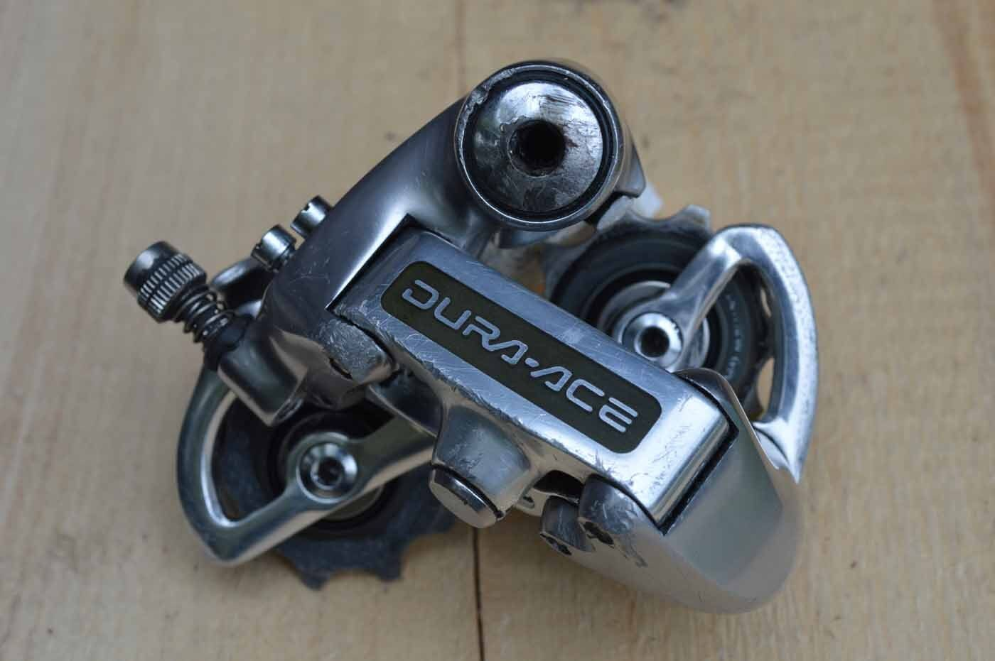 Rear derailleur retro road Shimano dura ace RD-  7402 short cage 49 mm 8 speed  promotions