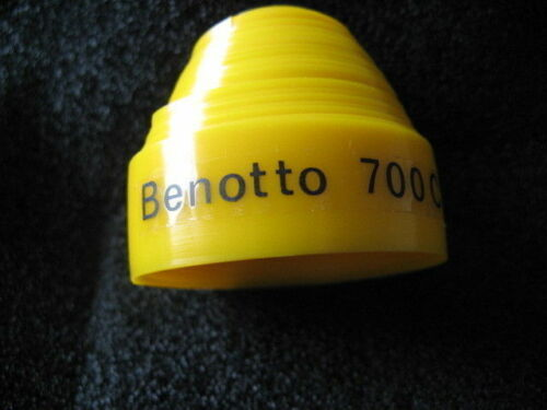 """2 Felgenband /""""Benotto/"""" gelb 700 C 17mm 28 Zoll für Rennrad Neu"""