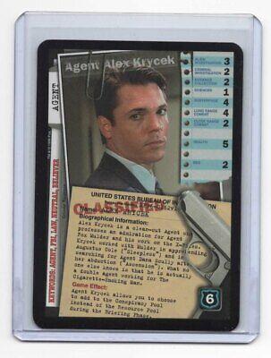 X-Files CCG Agent Alex Krycek Premiere Edition Ultra Rare Card