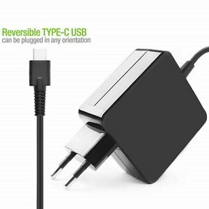 Genuine 65W USB-C Adapter//Charger for DELL Chromebook 13 3380 Venue 10 Pro 5056
