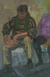 Louis-Klein-20th-Century-Oil-Portrait-of-a-Seated-Gentleman