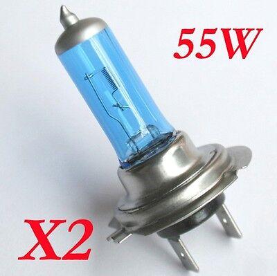 4x H7 Halogen Birnen Lampen weiss Auto Leucht 12V 50W / 55W