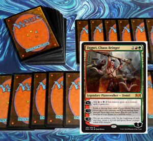 mtg-RED-GREEN-GRUUL-DECK-Magic-the-Gathering-rares-60-cards-domri-garruk-ramp