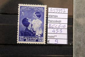 FRANCOBOLLI-BELGIO-NUOVI-N-453-A53397