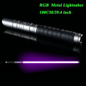 Lichtschwert-RGB-Jedi-Sith-Licht-Saber-Kraft-FX-Metall-Griff-Farbwechsel-Sound