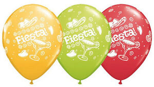 MEXICAN-BALLOONS-10-x-11-034-QUALATEX-FIESTA-MEXICAN-SPECIAL-ASSORTMENT-BALLOONS
