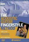 The Acoustic Guitar Fingerstyle Method: Learn to Play Using the Techniques and Songs of American Roots Music Two-DVD Set by David Hamburger (DVD Audio, 2012)