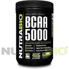 NutraBio BCAA -Branched Chain Amino Acid 400 grams