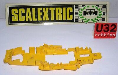 Motivated Scalextric Exin Chassis Ferrari B3 F1 Gelb C4052 Ausgezeichnet Zustand Elektrisches Spielzeug Spielzeug