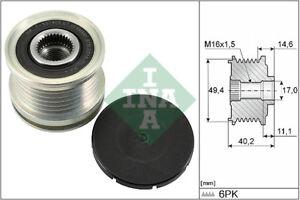 INA-Over-Running-Alternator-Clutch-Pulley-535-0124-10-535012410-5-YR-WARRANTY
