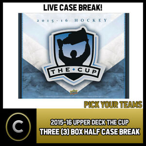 2015-16-UPPER-DECK-THE-CUP-3-BOX-CASE-BREAK-H265-PICK-YOUR-TEAM