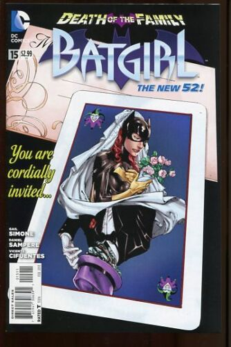 BATGIRL #15 DEATH IN THE FAMILY FINE NEW 52 2011 #nb-0078