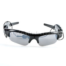 Hot Video Sunglasses+mp3 player Glasses DV DVR Recorder camcorder Camera -TF