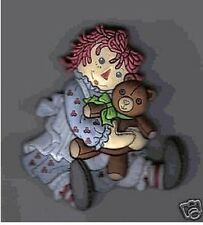 Raggedy Ann Collector Refrigerator Magnets For PVC Teddy Bear Flat Magnet Gifts