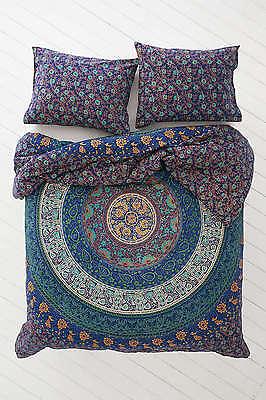 Duvet Doona Cover Comforter Mandala Hippie Bohemian Queen Quilt Cover Set Uyd02