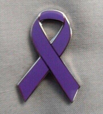 Charity *NEW* Epilepsy Awareness ribbon enamel pin badge