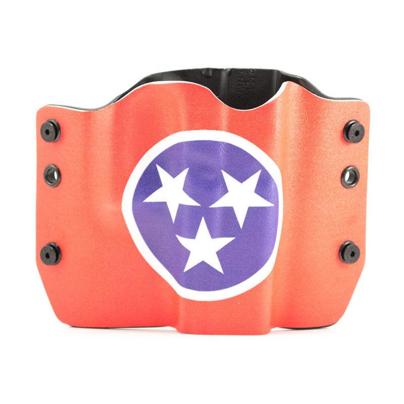 Makarov, SCCY, STEYR, Tennessee Flag, OWB Kydex Gun Holsters