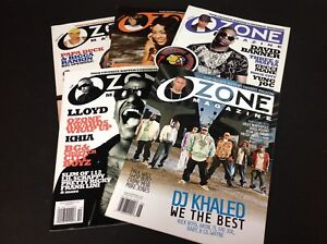 Ozone-Magazine-5-Magazines-Rap-Hip-Hop-USED-Lot-Box-2-Piranha-Records