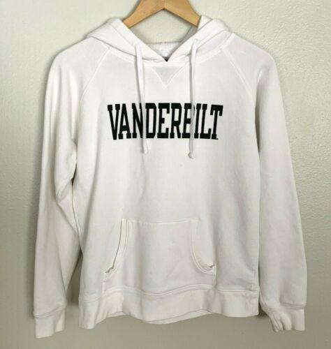 Vtg Champion Sz M Vanderbilt University White Hood
