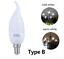 LED Candle Light Bulb Energy Saving Bulb Lamp For Home Garden Lightning 3w 5w